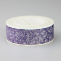 Fancy Custom Printing Adhesive washi paper tape for Label Sticker