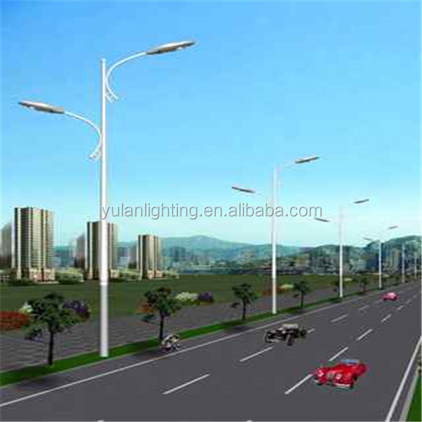 Q235 commercial outdoor lamp post/electrical poles in uae/street light pole