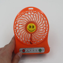 USB Mini Portable Usha Rechargeable Fan