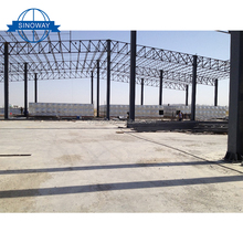 Hard solid steel structure house ,low cost factory workshop steel building