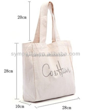 SYMPATHY 2016 new products brand blank cotton tote shopping bags women