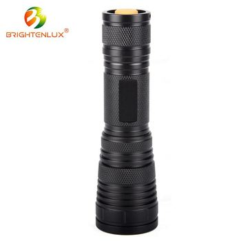 Top sale cheap price hot Adjustable Focus 3*AAA Battery power led blacklight flashlight