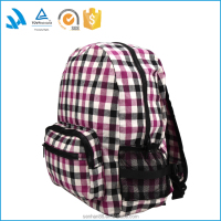 Italy style foldable school back pack bag for girls custom