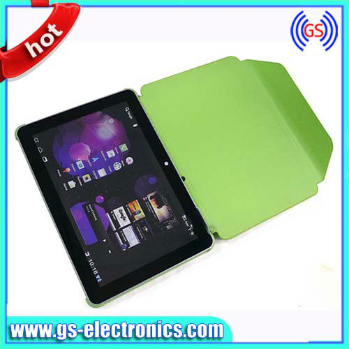 Newest leather stand for samsung galaxy tab 2 10.1 case