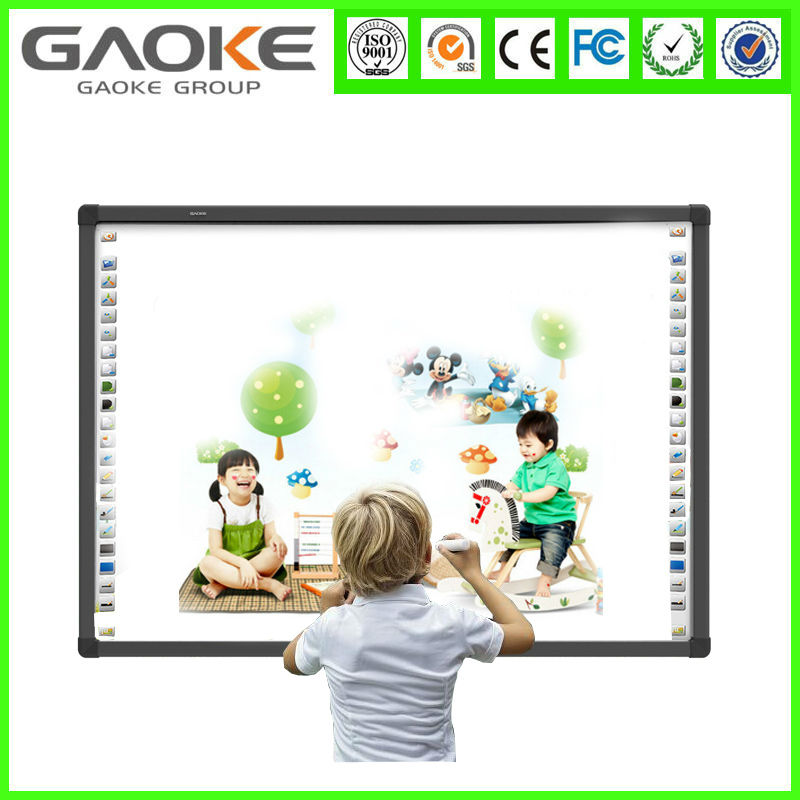 Manufacturer Multi touch provide OEM ODM SKD 69 82 96 104 120 inch 3 series frame electronic drawing board