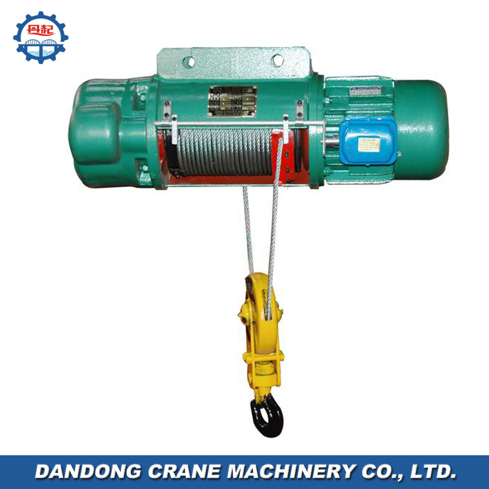 economical traditional Model CD1MD1 small sized heavy duty electric chain hoist