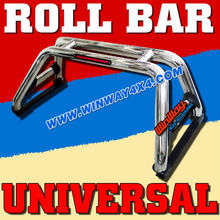 CHEVY SILVERADO 1999-2012 UNIVERSAL STAINLESS STEEL ROLL BAR