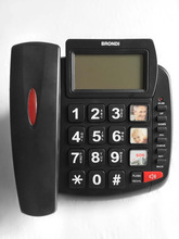 Telephones booth for sales big button senior phone black list phone with CE ,ROHS, FCC certificate
