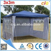 Eco-friendly Elegance arc tent