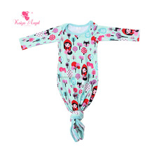 OEM Service baby clothing cotton print Little Red Riding Hood cute baby sleeping bag