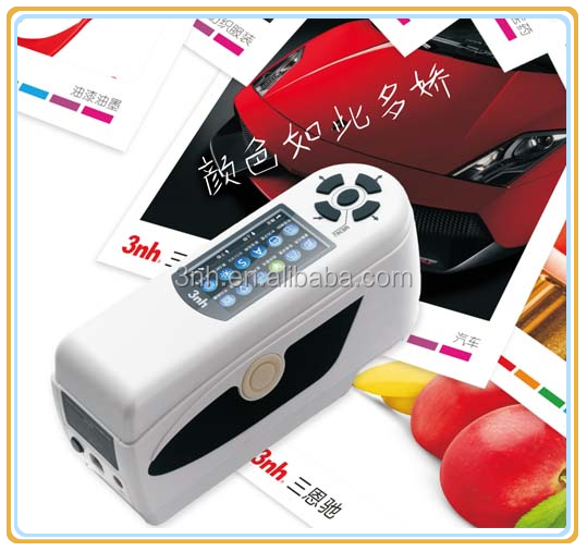 Red and Yellow Color Tester Machine Hand-held Digital Colorimeter with Lab