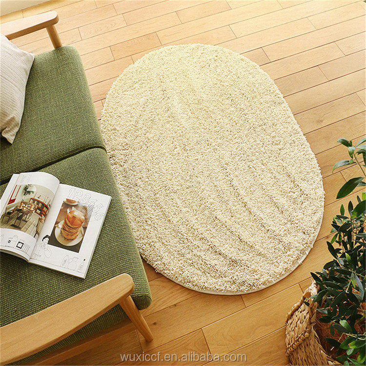 Alibaba china hot sell chenille tufted bathmat