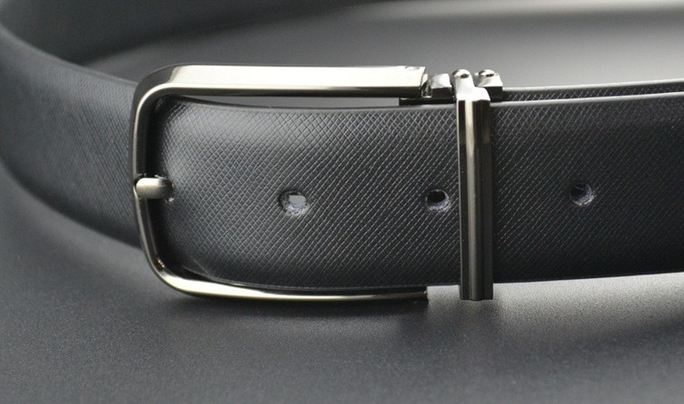 nbd1643 Black Men Classic Leather Belt