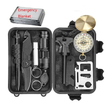 Amazon top sell EDC earthquake survival kit outdoor travel emergency survival tool kit set