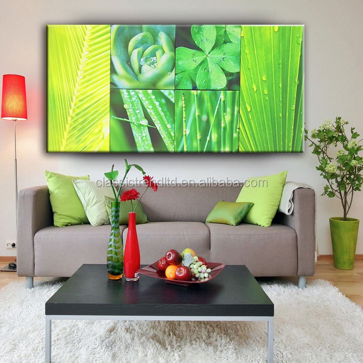 Modern wall art decor 3pcs/6pcs design paintings art on canvas