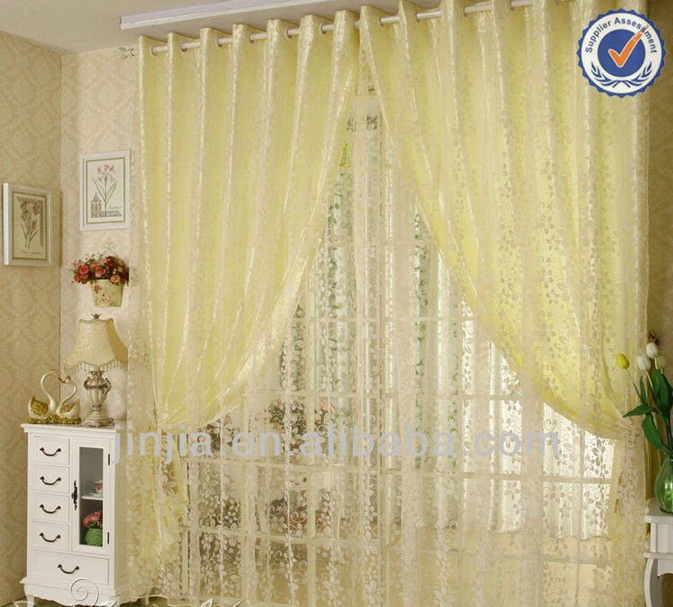 2016 Hot selling New design American Style blackout curtain fabric home textile