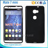 for huawei mate 7 mini case, matte pudding soft gel tpu case cover for huawei mate 7 mini