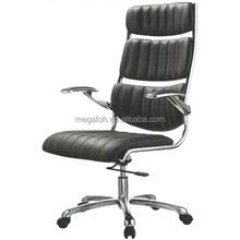 Black Modern Swivel Executive Office Chair High Back PC Computer Desk Furniture ( FOH-F68-A1 )