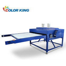 Auplex CE Approved Double locations large format pneumatic dye sublimation digital heat press machine