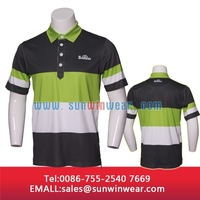 Sublimation printing customized dri fit Mens Golf Combed Cotton Polo Shirts/Make Custom Polo Shirts