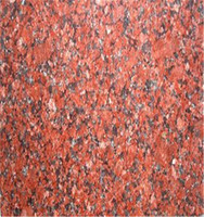 Polished Natural India Red imperial coffee granite For exterior decoration granite flooring