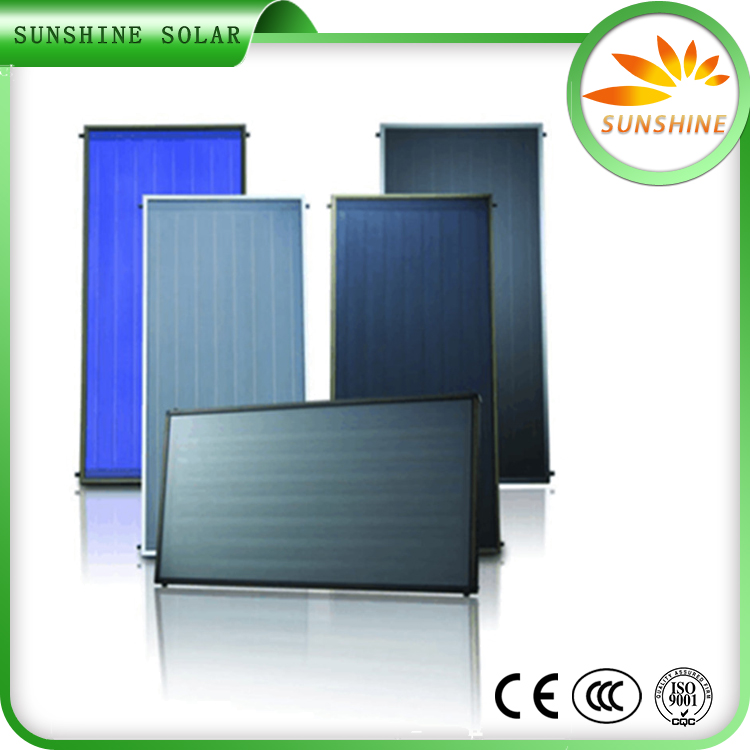 Portable Solar Water Heater Solar Panels For Home Flat Roof Mounted Solar Collector