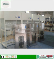 With UV light vertical clean bench cleanroom Laminar flow Series