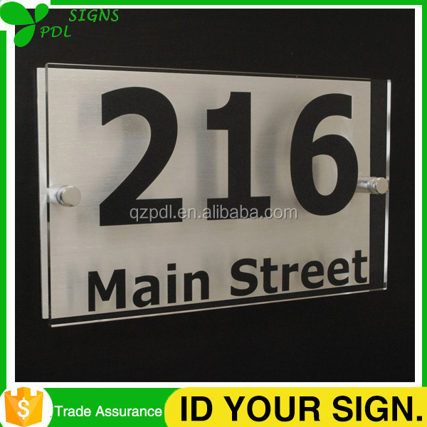 Best Quality High Custom Acrylic Office Sign