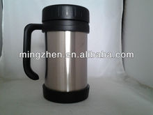 BPA-free new style two mouths stainless steel vacumm travel flask