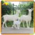 KANO0778 Outdoor Playground Decorative Life Size Goat Statue