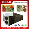 Automatic fruit and vegetable drying equipment /heat pump dehydrator machine