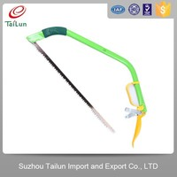 green color carbon steel bland saw blade bow