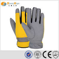 synthetic leather gloves gardening glove