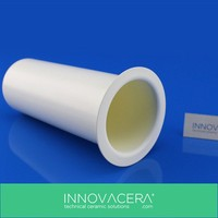 Excellent Heat Resistance Boron Nitride / PBN Ceramic Crucible For Vacuum Melting /INNOVACERA