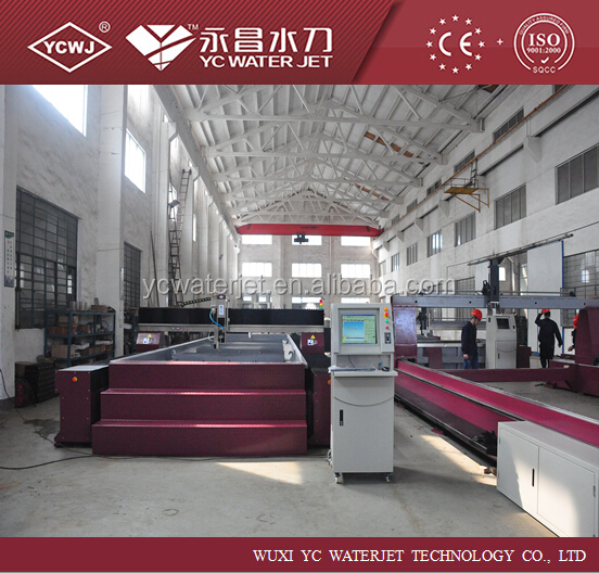 YC automatic vertical aluminium cutting machine with ISO9001