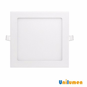 factory direct sale square 300x300mm pure white 24w flat led panel ceiling light proved by ce rohs