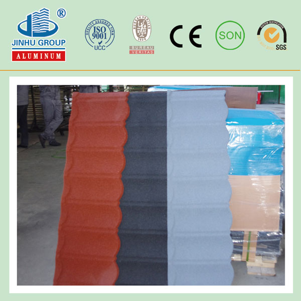 Africa Building Material Color Sand Coated Steel Roof Tile