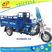 Three wheels motor tricycle factory KEWESAKI motorcycle adult with cabin 3 wheel tricycle