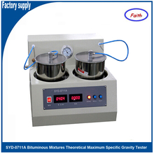 Bituminous Mixtures Theoretical Maximum Specific Gravity Tester for lacunose bituminous mixtures