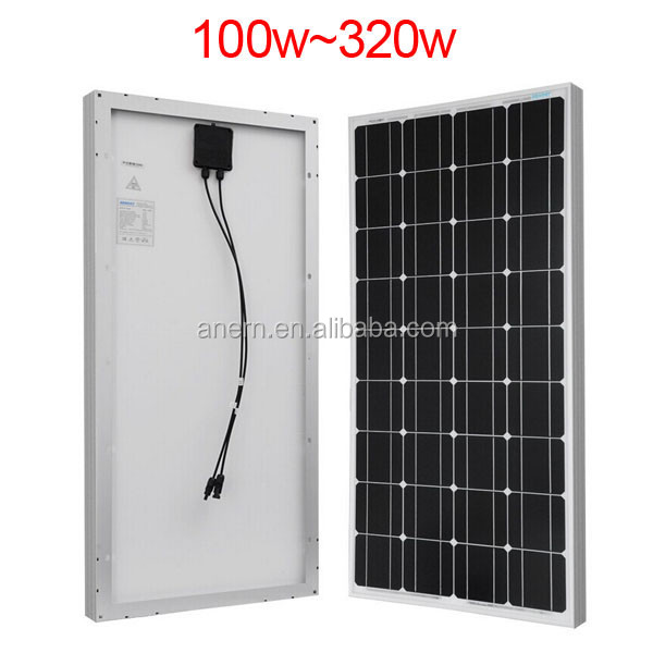 Practical 5W to 250W best price per watt solar panels for China supplier