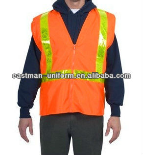 Reflective Safety Vest,Cheap High-Visibility Vest With Oxford,Safety Workwear/Uniform