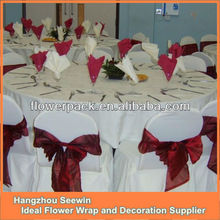 2014 Fashional Wedding Wholesale Chair Sashes