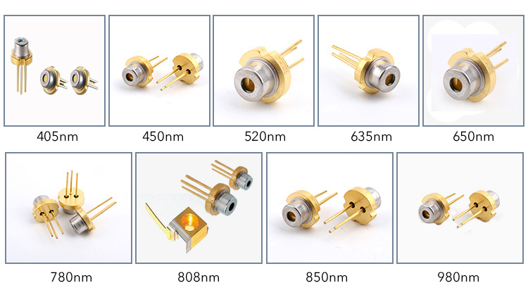 Blue laser diode 450nm 1.6w for stage Laser Lighting