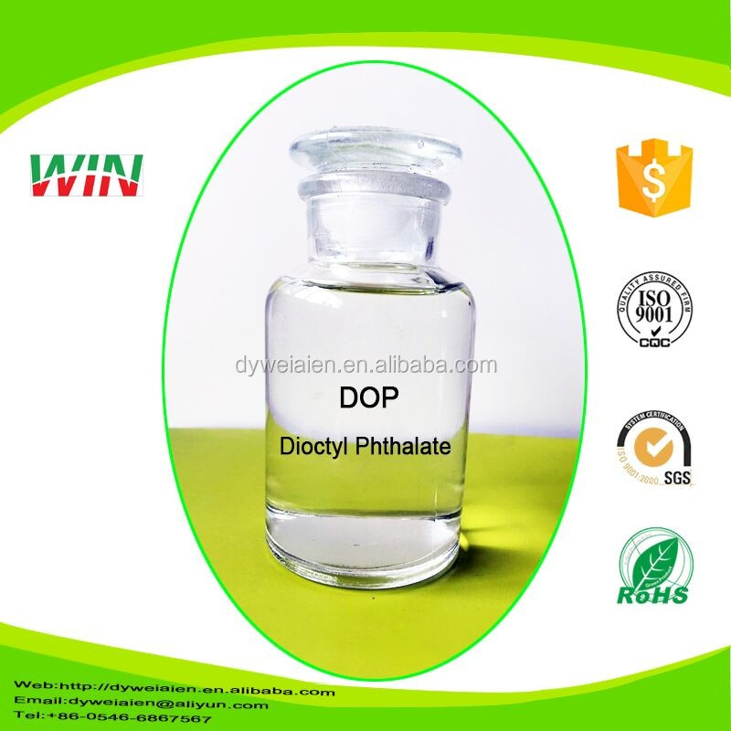 Industrial grade lowest price transparent plasticizer dioctyl phthalate dop