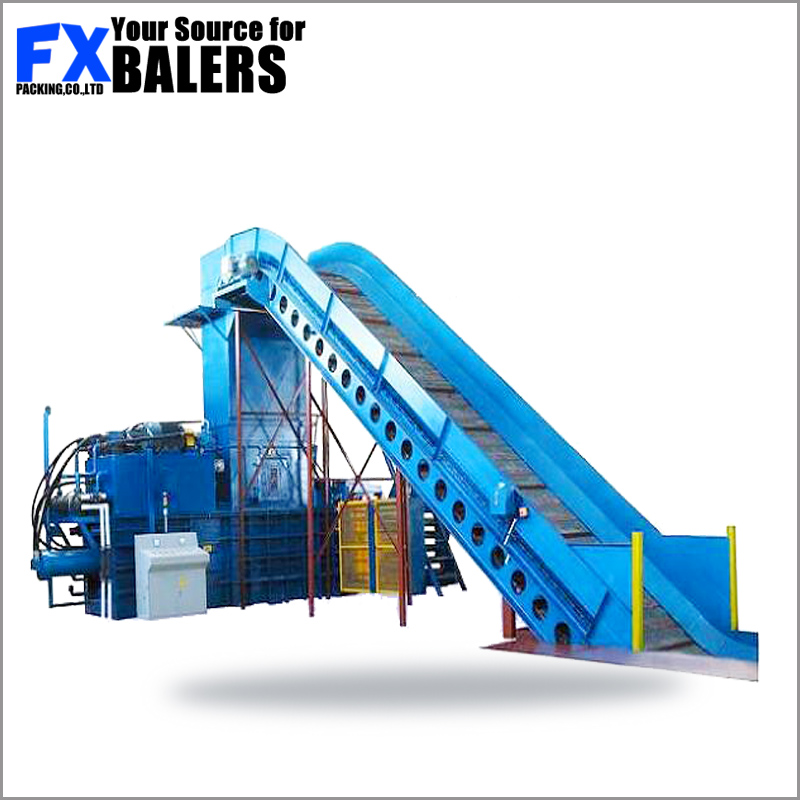 scrap shear press baler