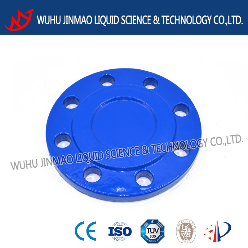 ~ china ductile iron pipe fittings bellmouth flange plate