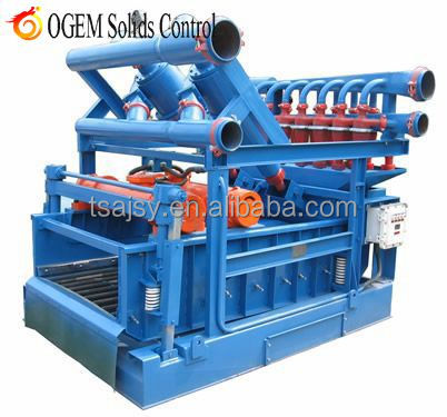 China hydrocyclone mud cleaner