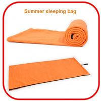 Wholesale popular waterproof cheap envelope sleeping bag with hood