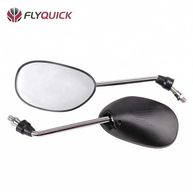 FLYQUICK High Quality Motorcycle Body Plastic Parts motorcycle motorbike side mirror plastic mirror for HONDA <strong>C100</strong> BIZ