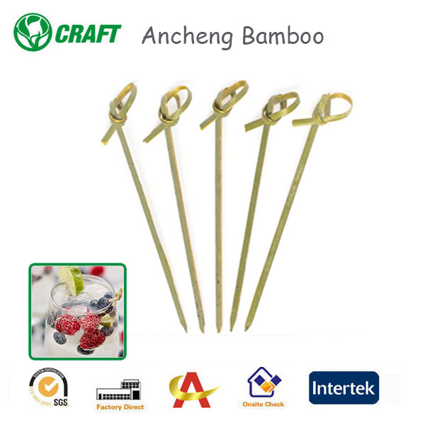 Disposable Bamboo Fruit picks /strawberry hullers